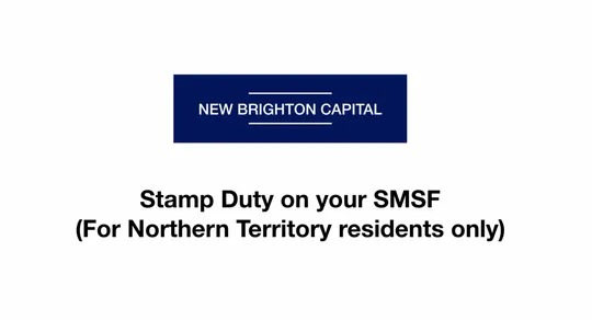 Stamp duty and your SMSF