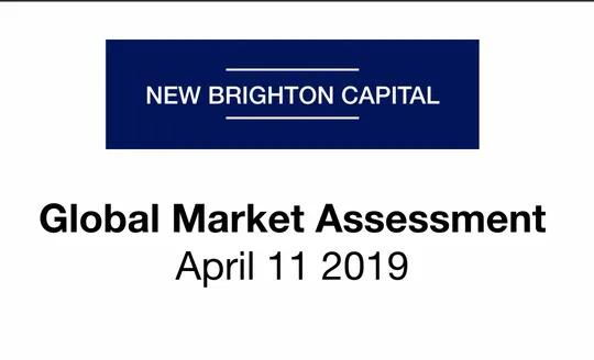 Global Market Assessment April 11 2019